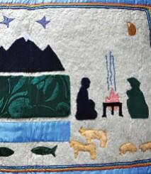 """Séminaire """"Enjeux et méthodes"""" Feuilles volantes, tapis mystiques et sculptures lactées. Anthropologie des modalités d'expression du croire au sein d'un courant religieux autochtone en République de l'Altaï (Fédération de Russie)"""