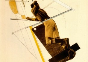 El Lissitzky Le  Footballeur 1922
