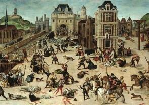 Massacre de la Saint barthélémy par François Dubois